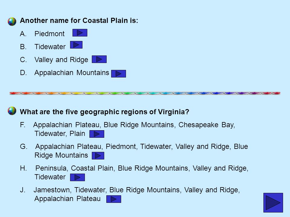 Another name for Coastal Plain is: