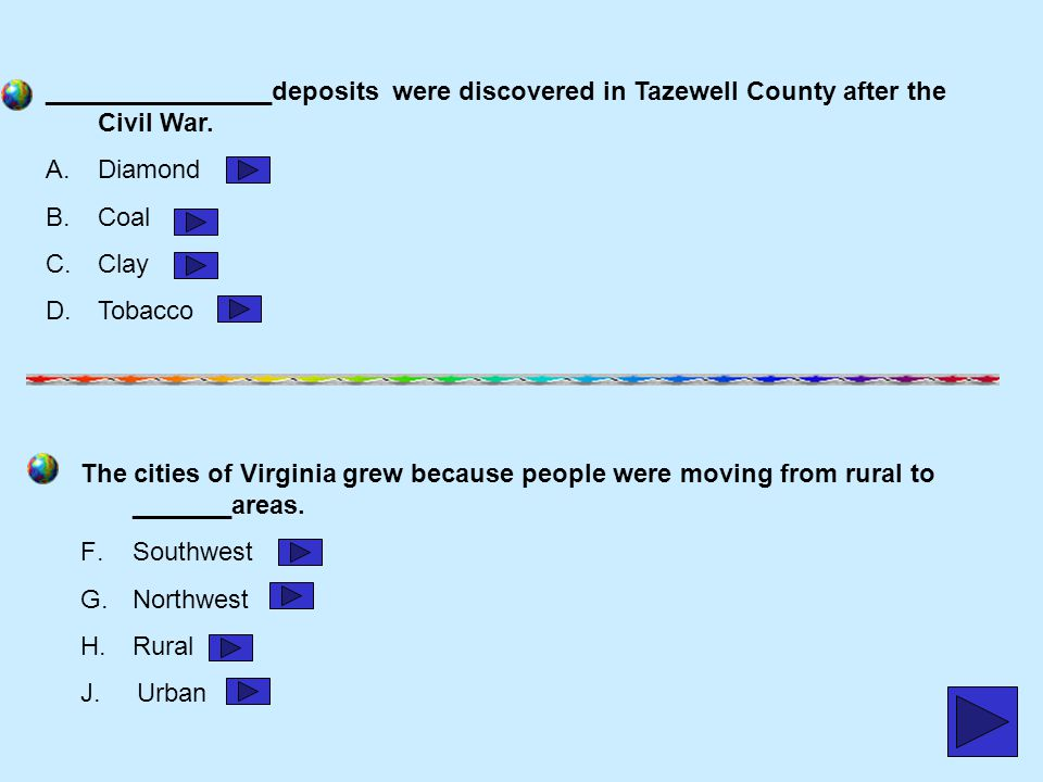 ________________deposits were discovered in Tazewell County after the Civil War.