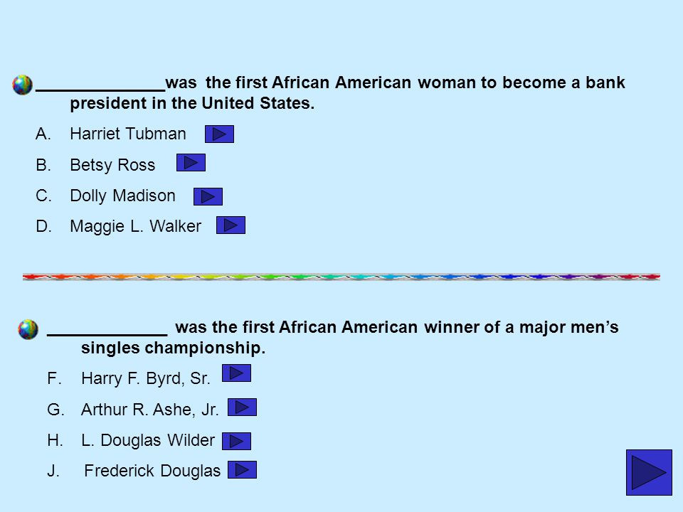 ______________was the first African American woman to become a bank president in the United States.