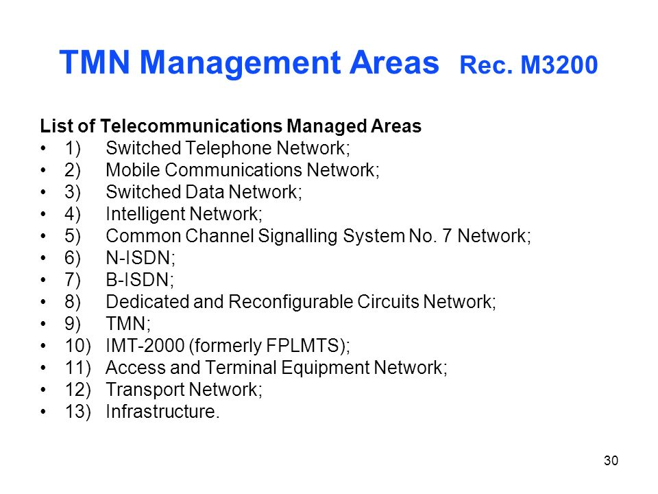 TMN Management Areas Rec. M3200
