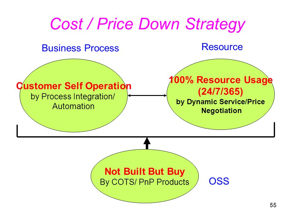 Cost / Price Down Strategy