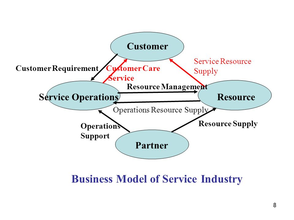Business Model of Service Industry