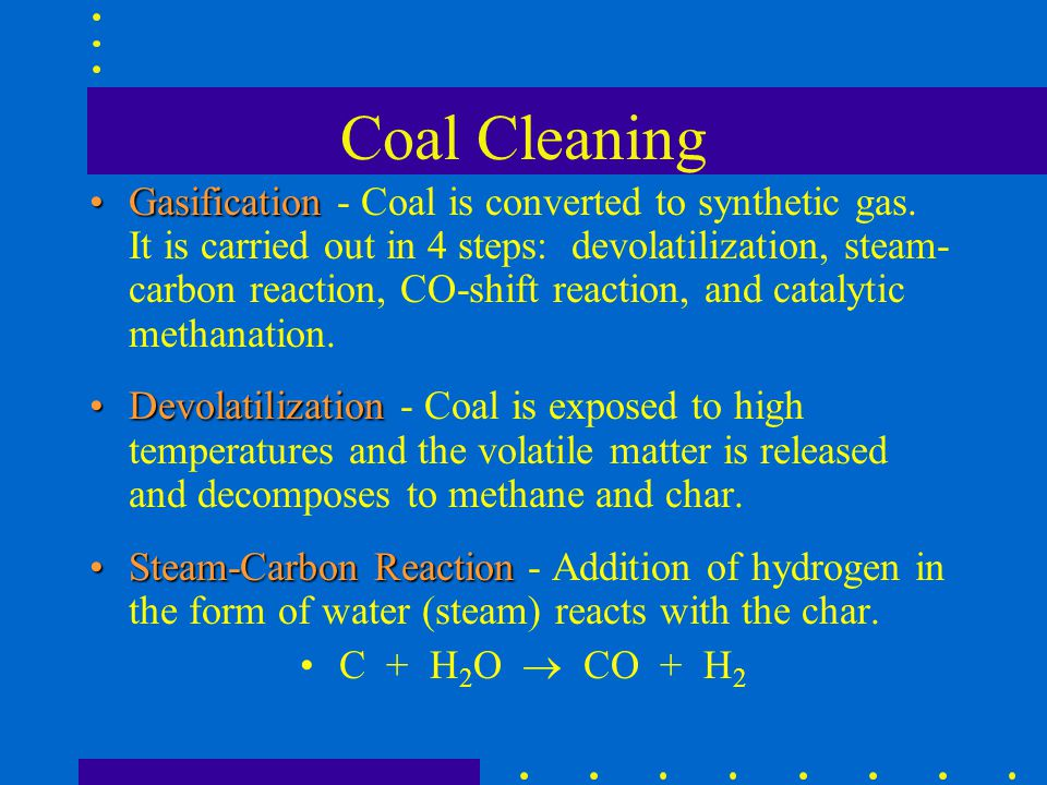 Coal Cleaning