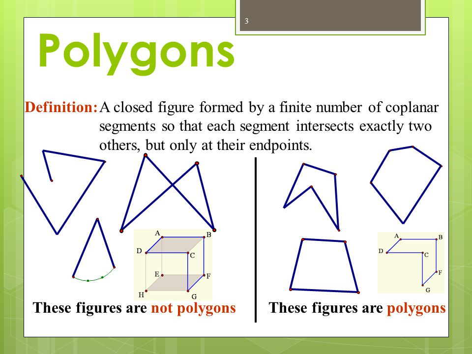 Polygons Definition: