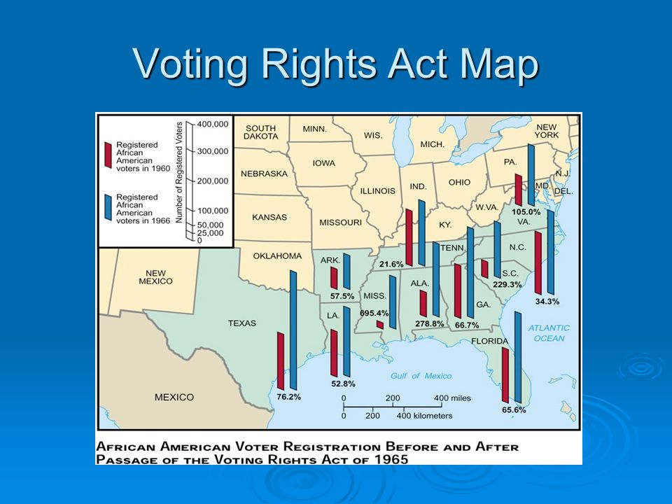 Voting Rights Act Map