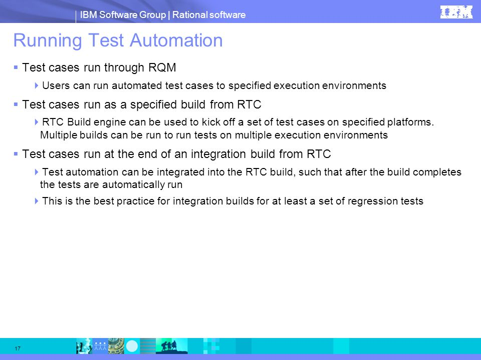 Running Test Automation