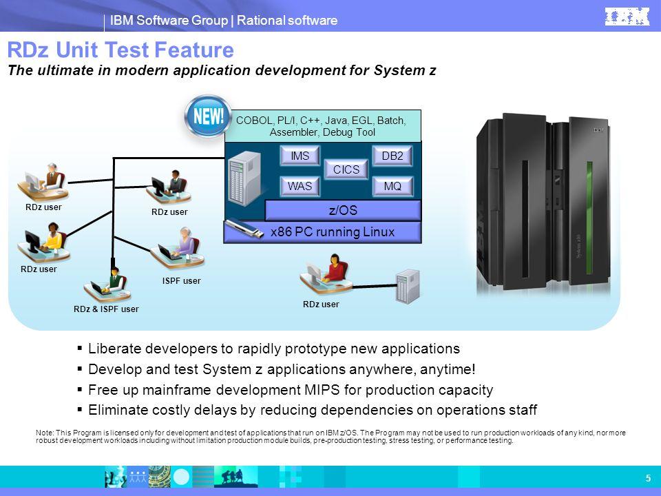 COBOL, PL/I, C++, Java, EGL, Batch, Assembler, Debug Tool