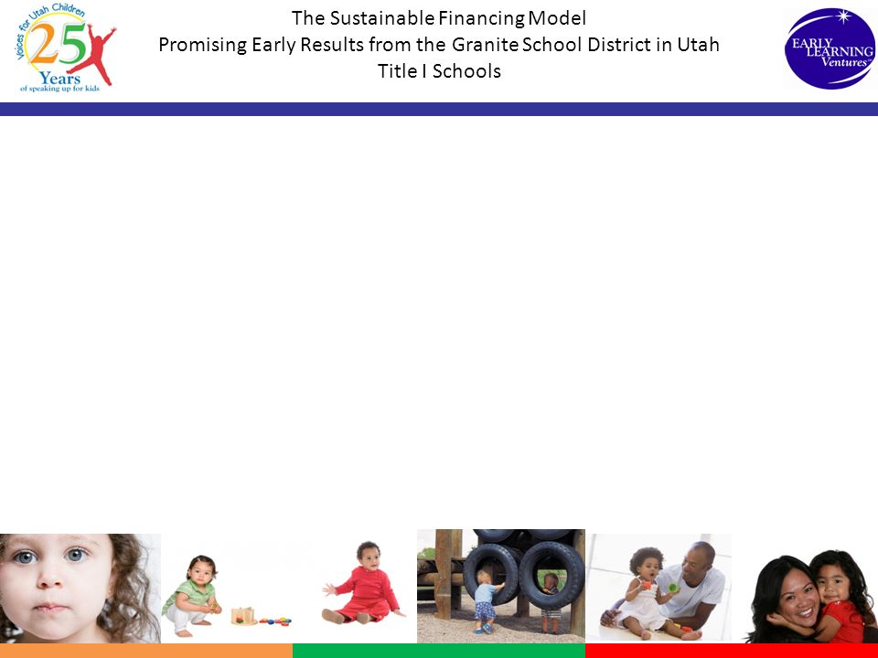 The Sustainable Financing Model Promising Early Results from the Granite School District in Utah Title I Schools