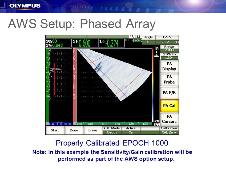 AWS Setup: Phased Array