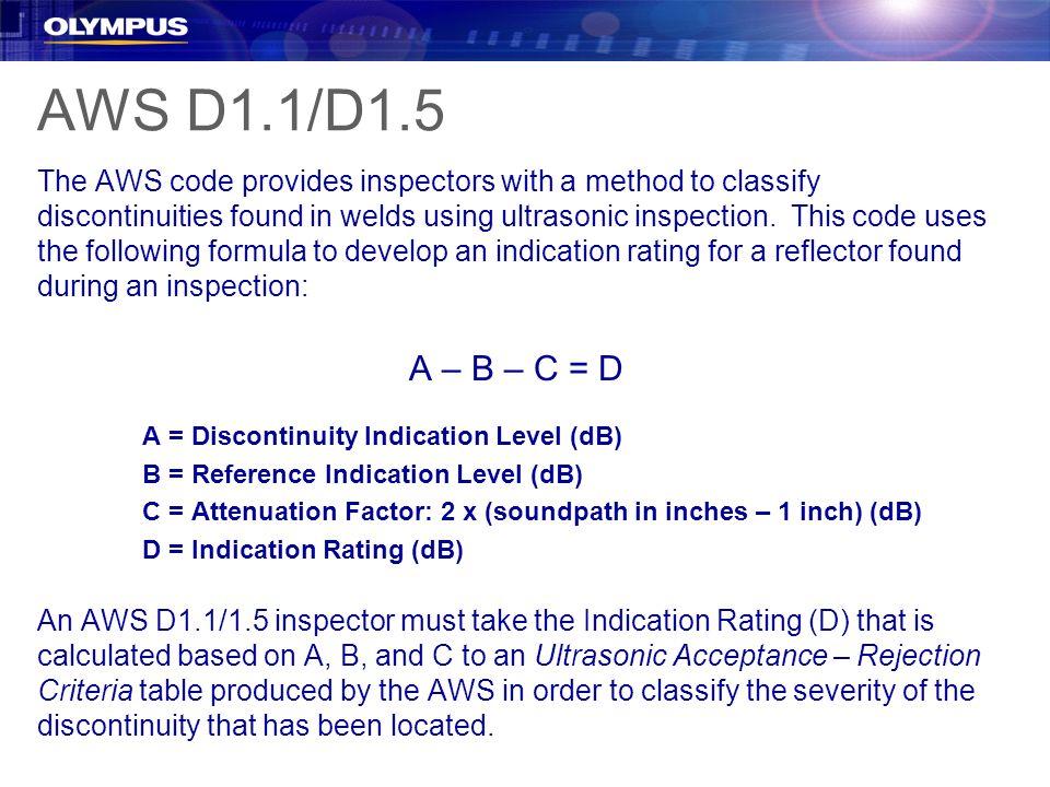 AWS D1.1/D1.5