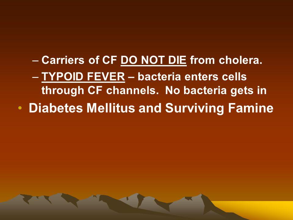 Diabetes Mellitus and Surviving Famine