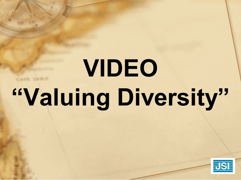 VIDEO Valuing Diversity