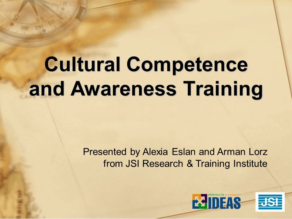 Cultural Competence and Awareness Training
