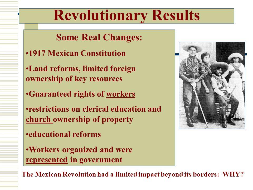 Revolutionary Results