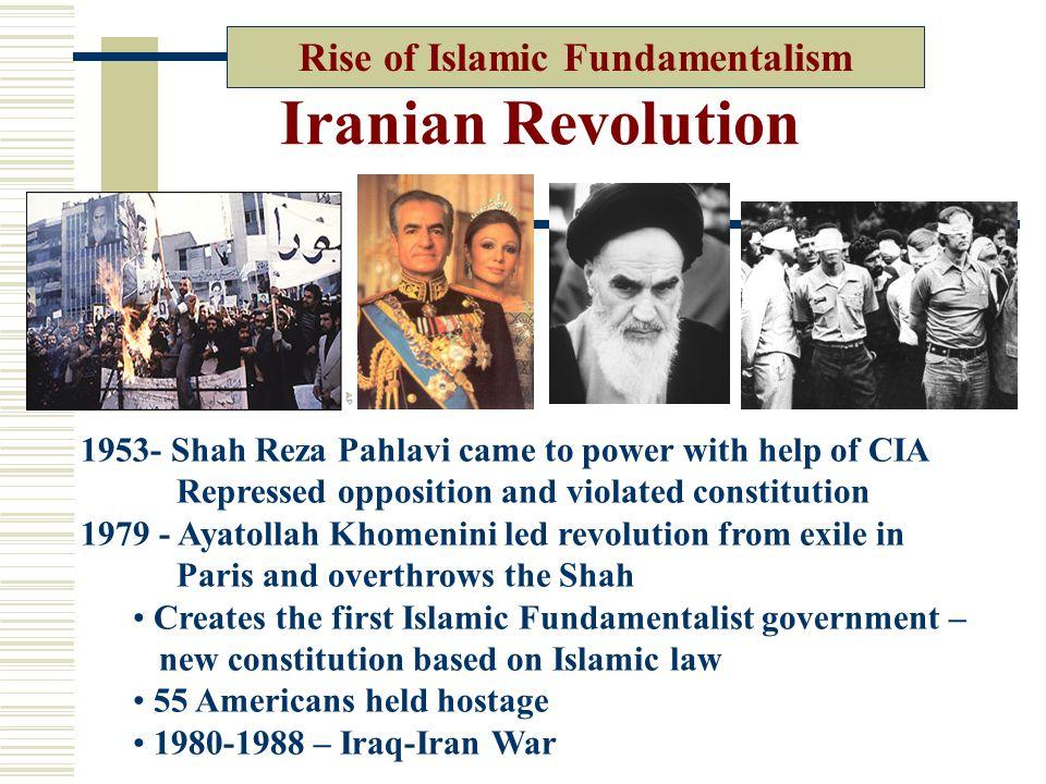 Rise of Islamic Fundamentalism