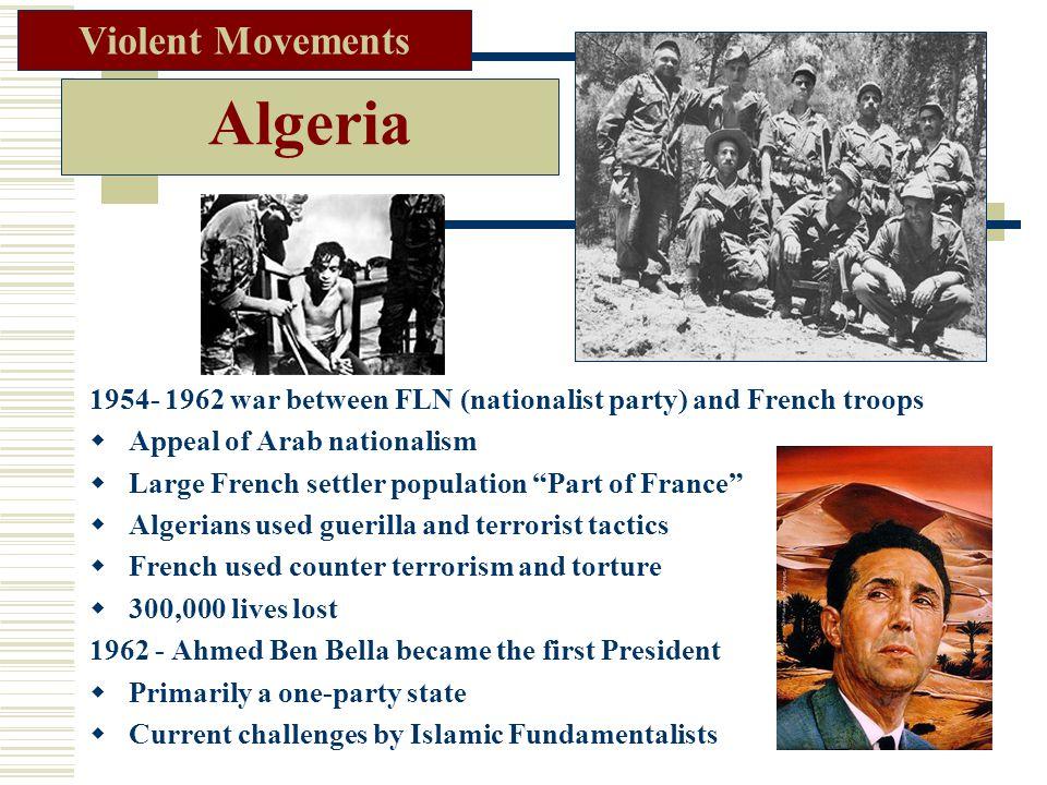 Algeria Violent Movements
