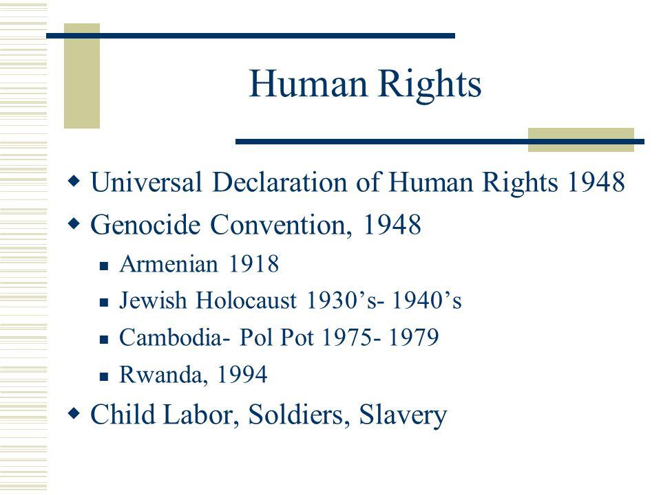 Human Rights Universal Declaration of Human Rights 1948