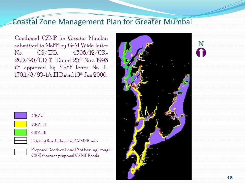 Coastal Zone Management Plan for Greater Mumbai