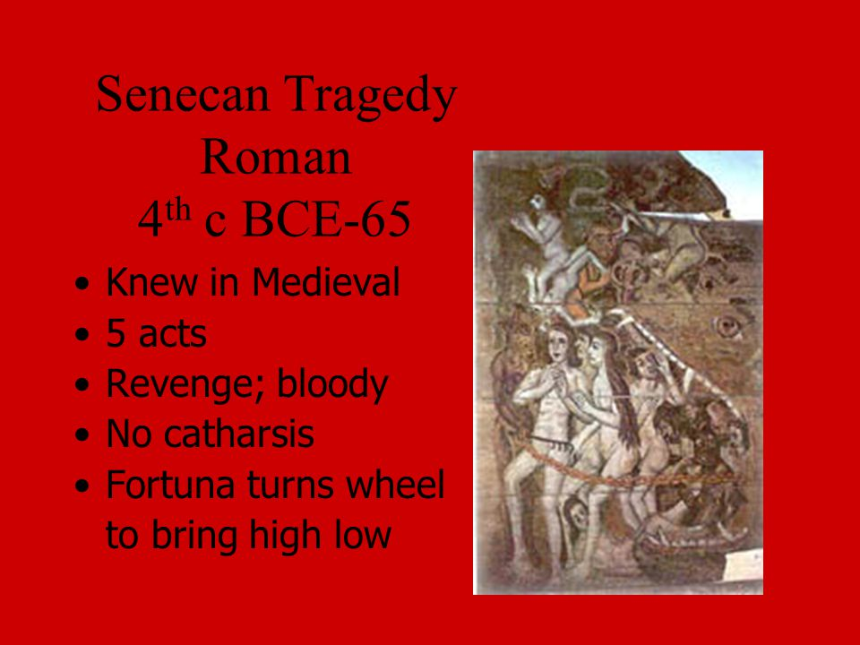 Senecan Tragedy Roman 4th c BCE-65