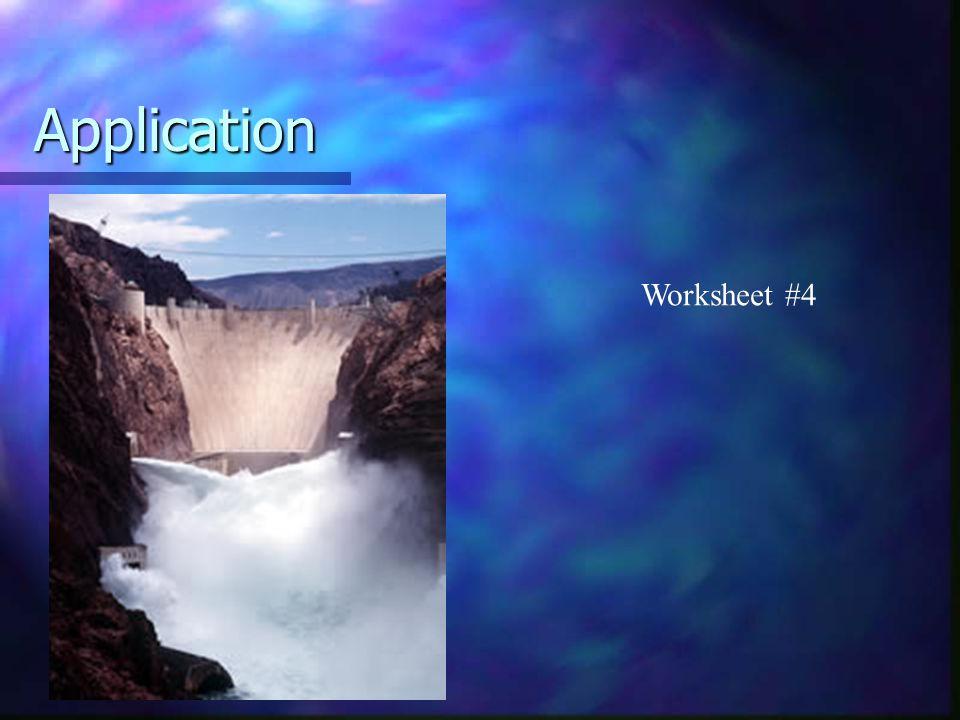 Application Worksheet #4