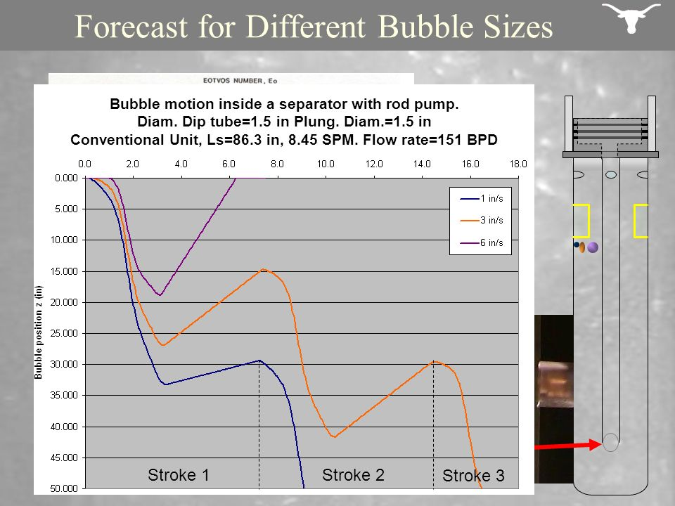Forecast for Different Bubble Sizes