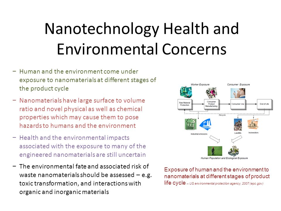 Nanotechnology Health and Environmental Concerns