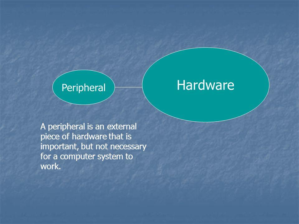 Hardware Peripheral.