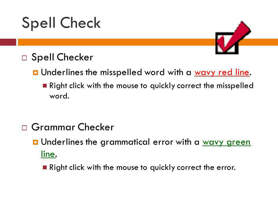 Spell Check Spell Checker Grammar Checker