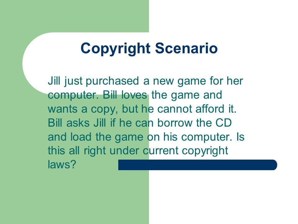 Copyright Scenario