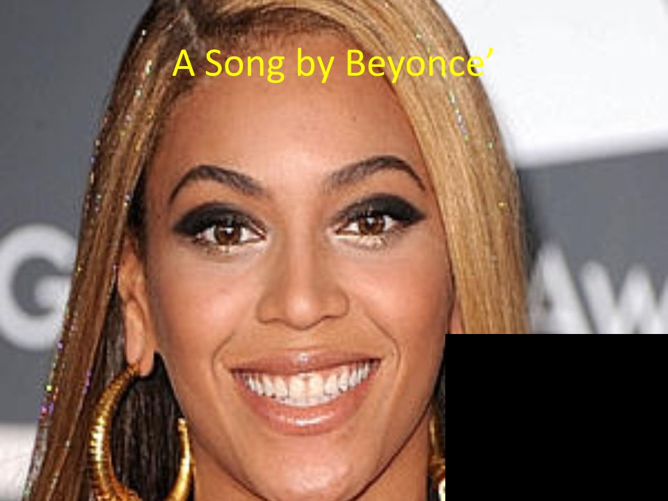 A Song by Beyonce'