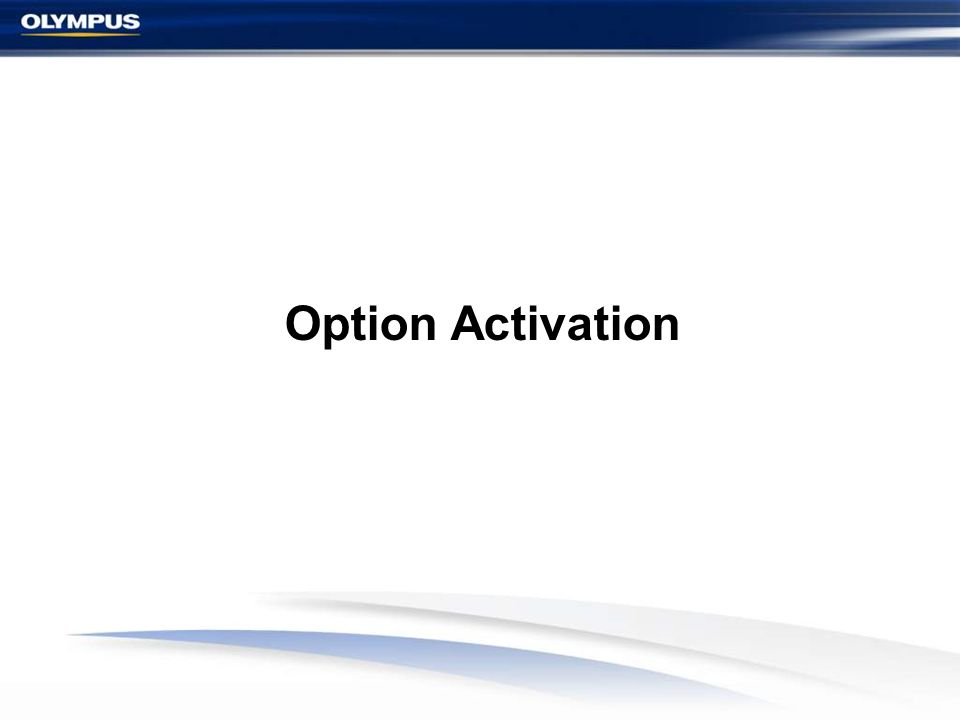 Option Activation 13
