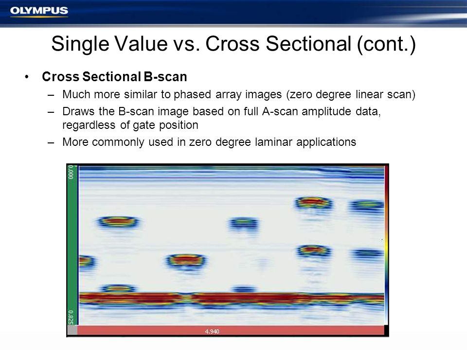 Single Value vs. Cross Sectional (cont.)