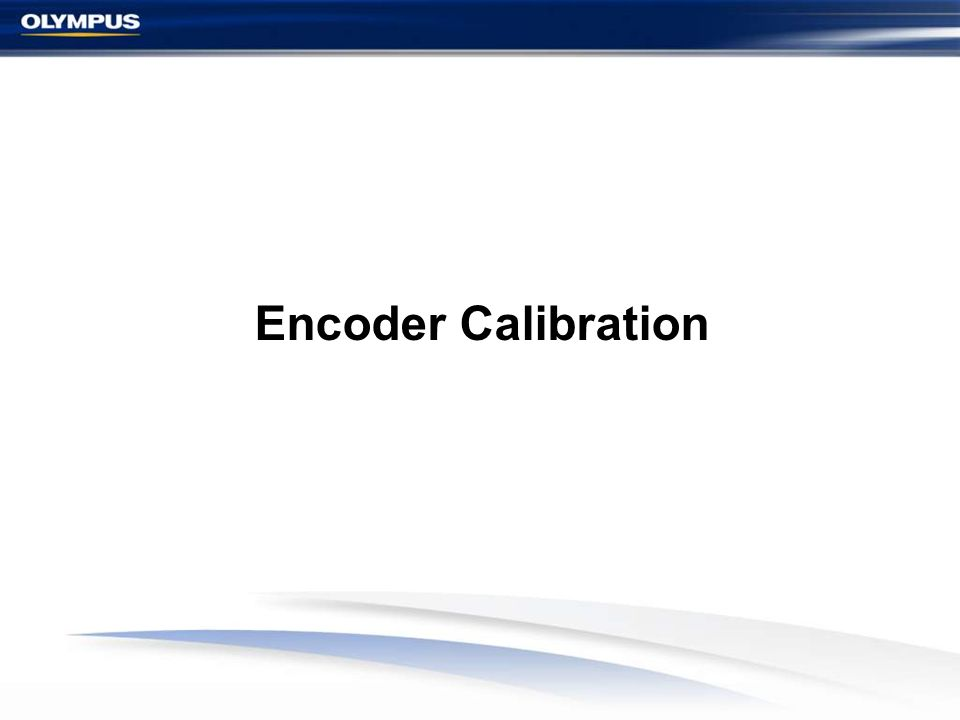 Encoder Calibration 55