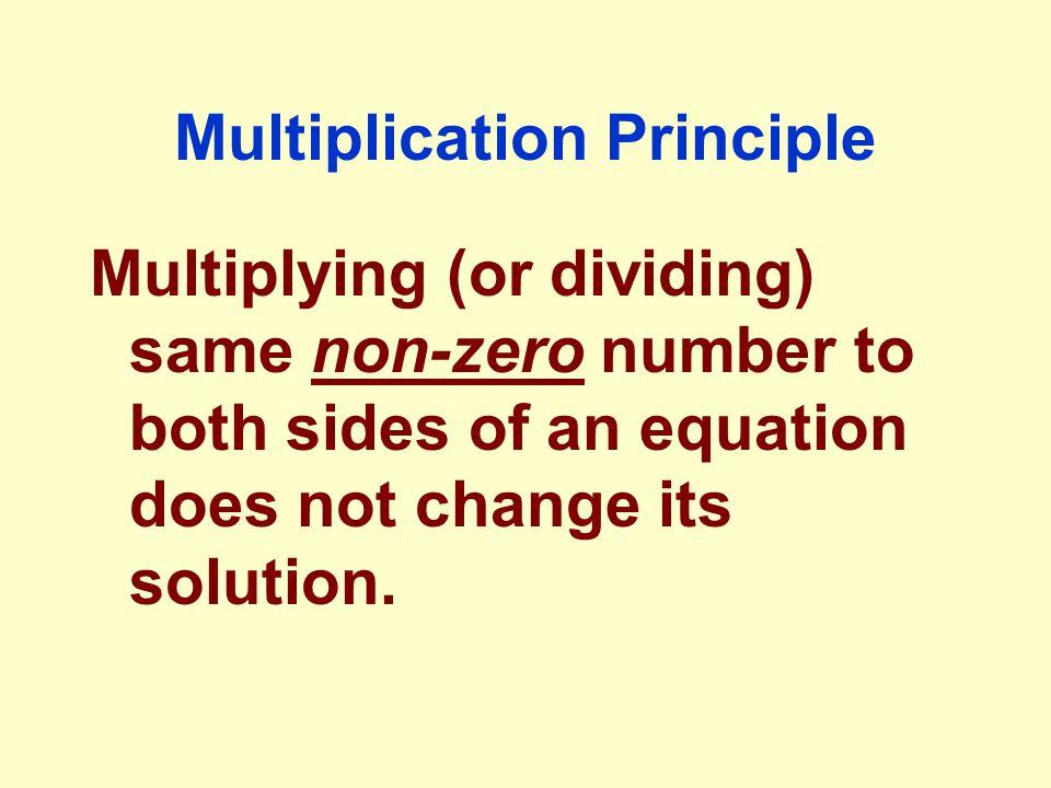 Multiplication Principle