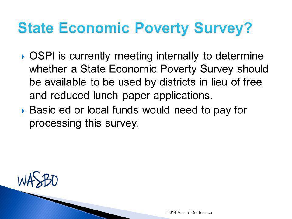 State Economic Poverty Survey