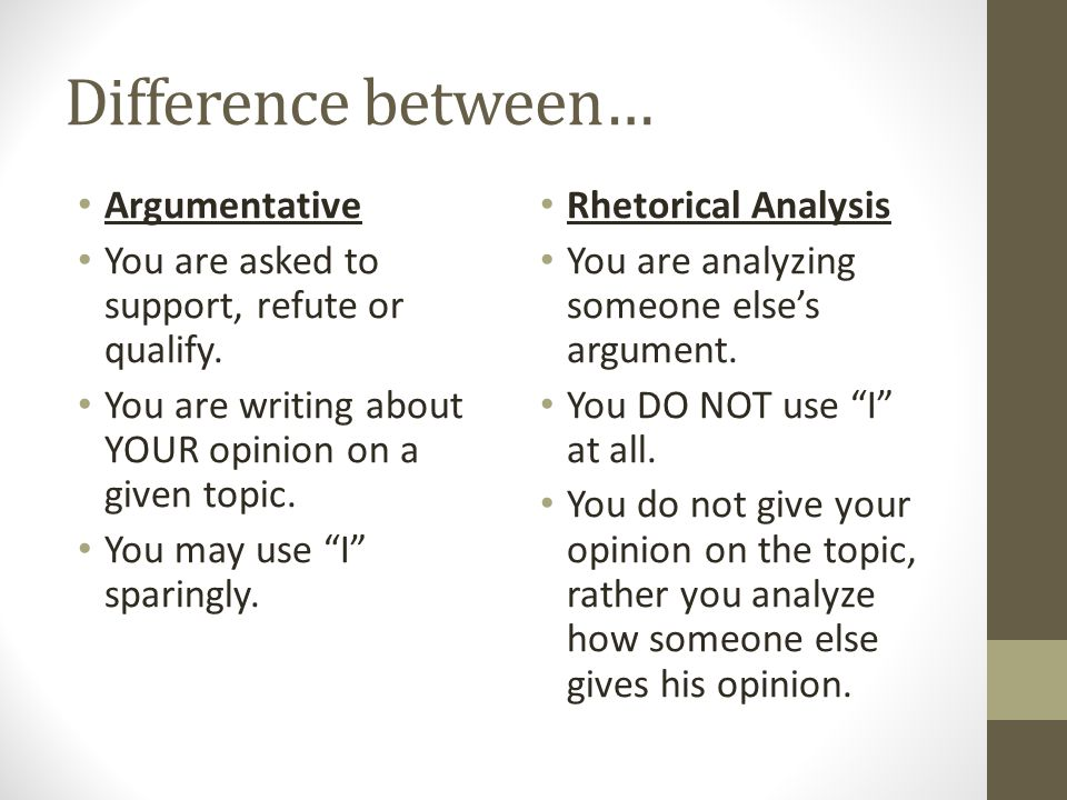 How To Write A Rhetorical Analysis  Ppt Download