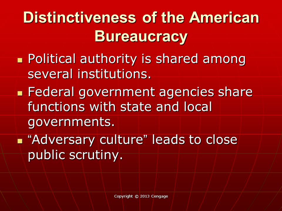 Distinctiveness of the American Bureaucracy