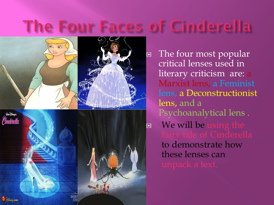 The Four Faces of Cinderella