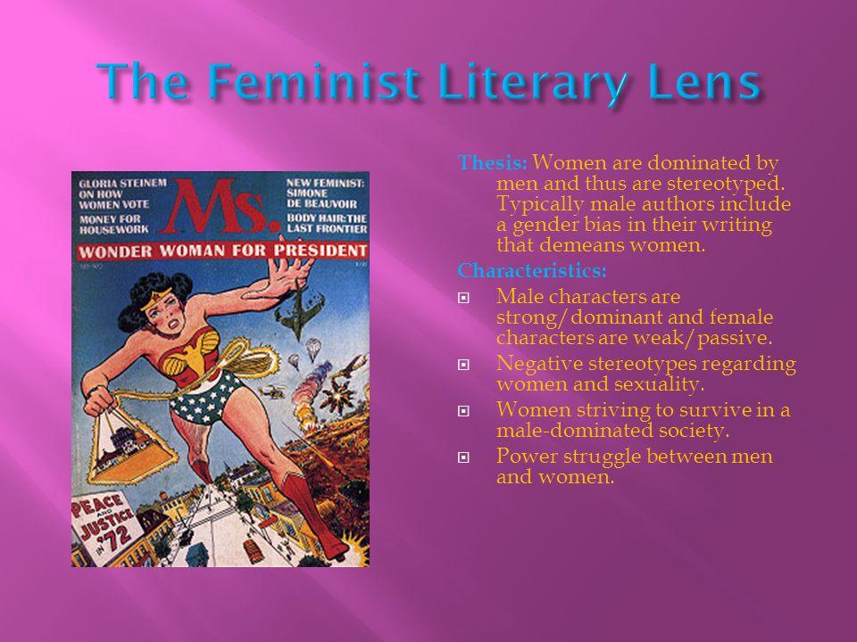 The Feminist Literary Lens