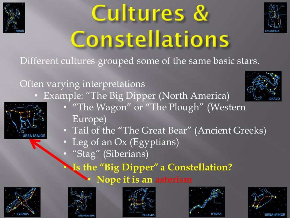 Cultures & Constellations