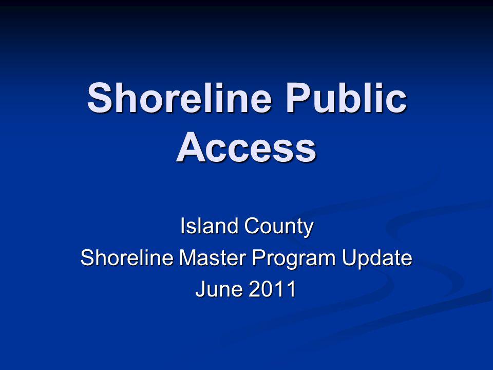Shoreline Public Access