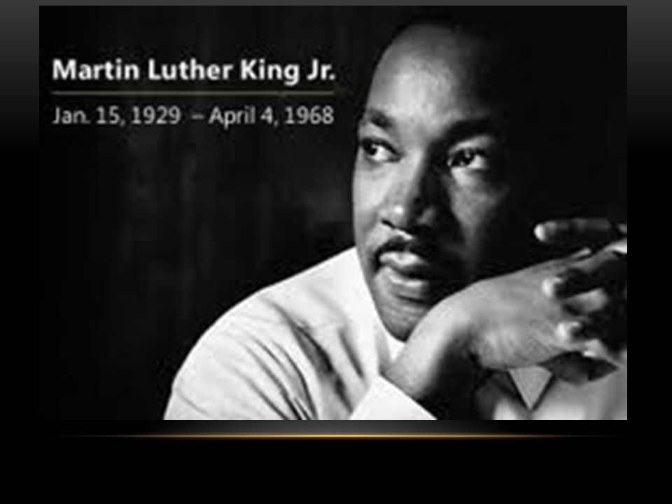 iv. Martin luther king, jr.