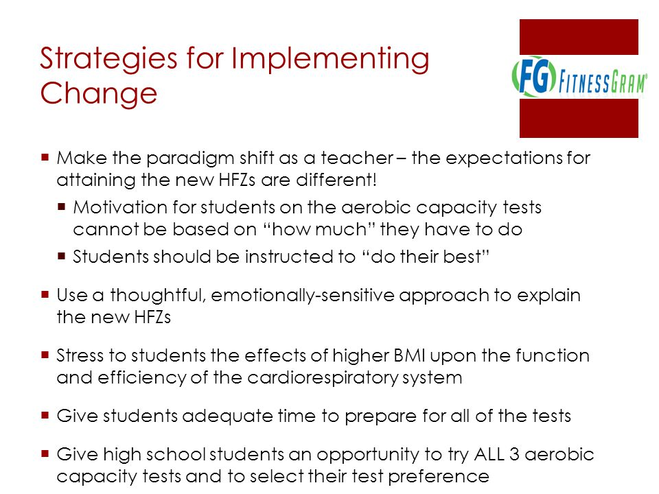 Strategies for Implementing Change