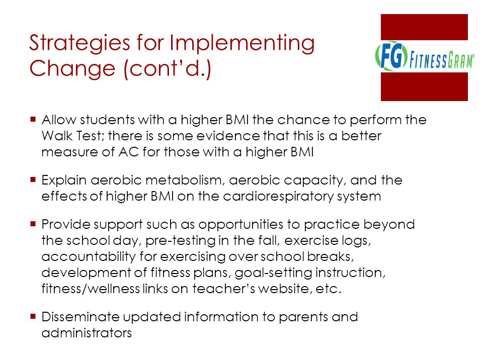 Strategies for Implementing Change (cont'd.)