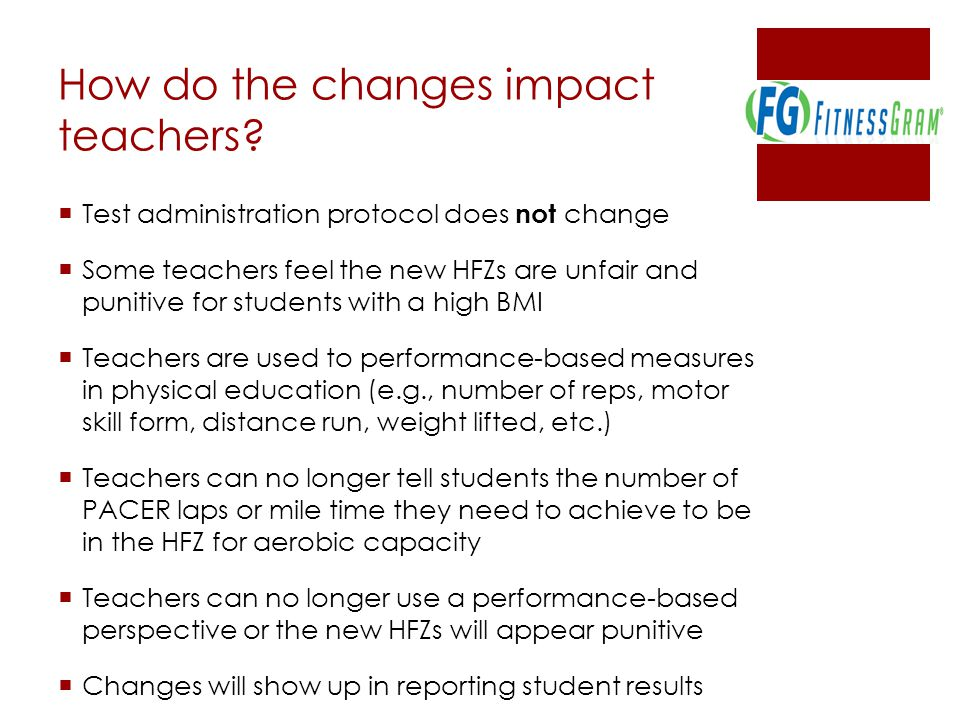 How do the changes impact teachers