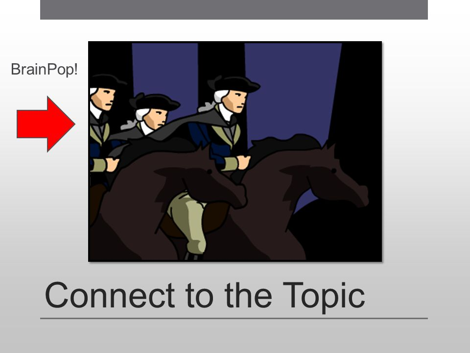 BrainPop! Connect to the Topic