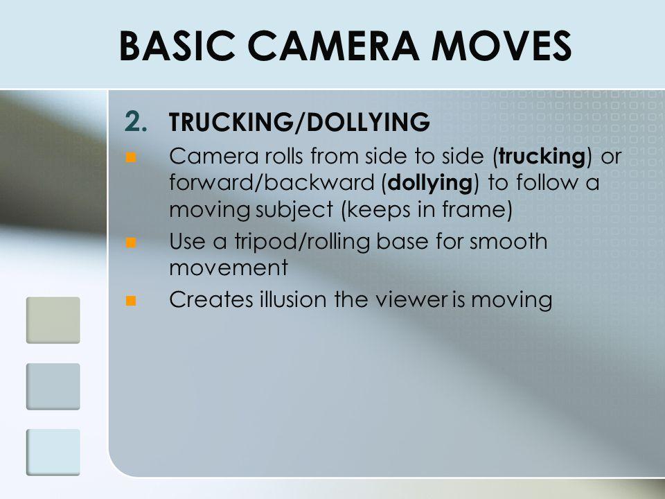 BASIC CAMERA MOVES TRUCKING/DOLLYING