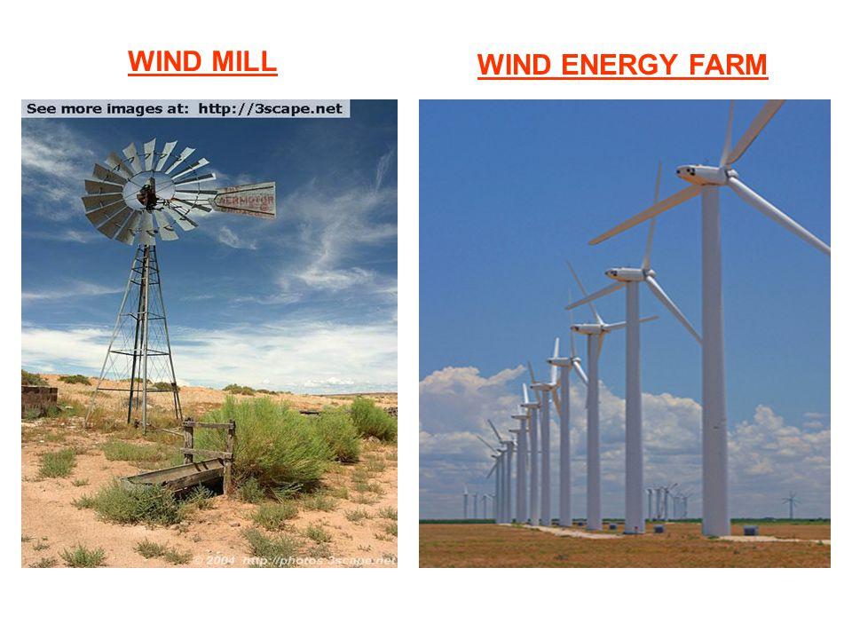 WIND MILL WIND ENERGY FARM