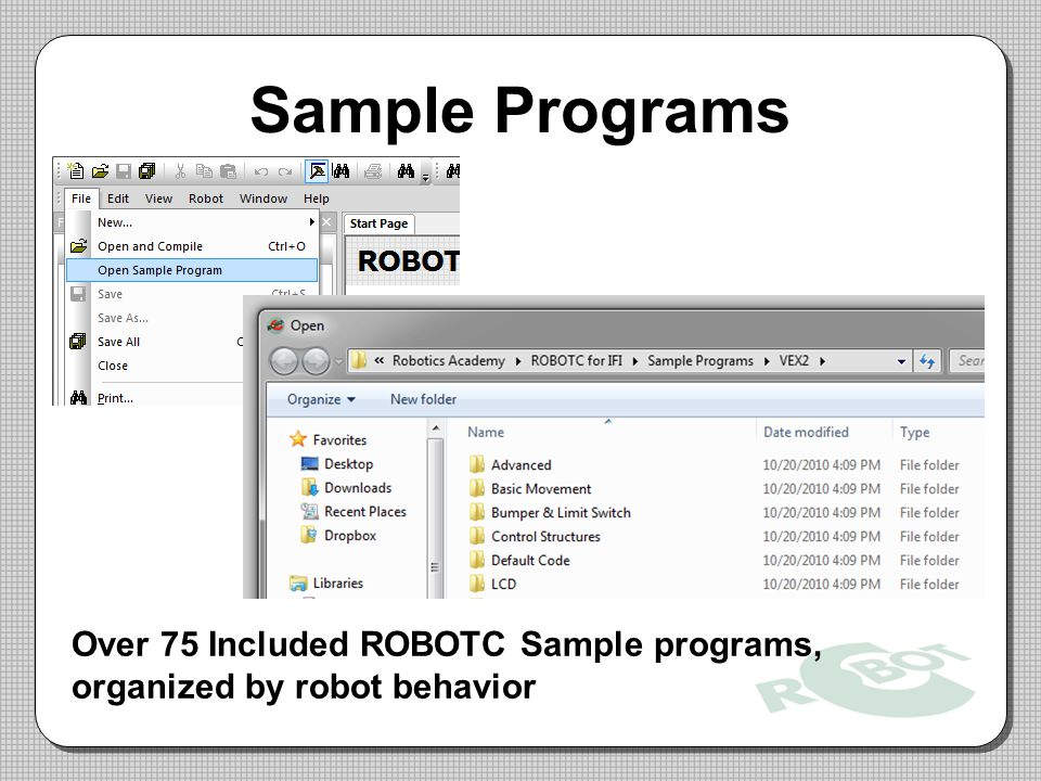 Sample Programs