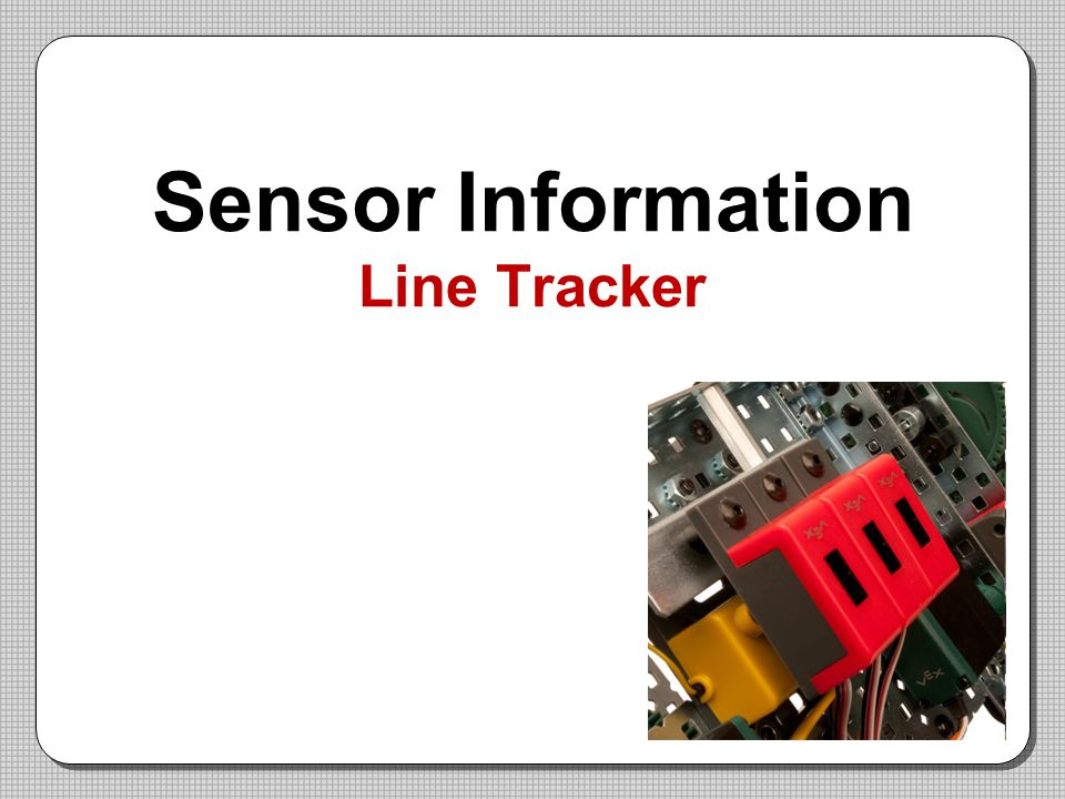 Sensor Information Line Tracker